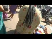 Mature Indian bend over Street Booty