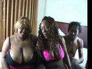 Thick BBW Hershey Rae Threesome