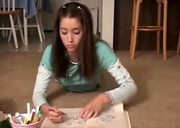 Lovely Chloe - Drawing and fingering