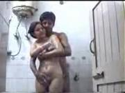 Hot Indian College Girl fucking with her BF in Bathroom