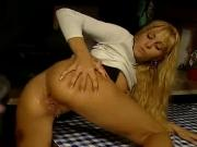 German Blond Babe fucked