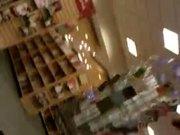 Nice teen upskirt at the bookstore