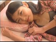IZUMI Asuka on the bed