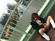 Public Sex & Asuka Ishihara Fingered, Footjob Oudoors U.C