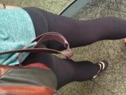 Candid Teen Leggings Ass
