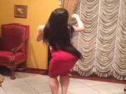 Insta Arab Rania Abdulla does a bellydance