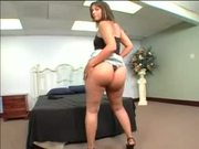 Maya's brickhose bubbled butt get strecthed by BBC