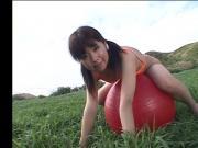 AKIBA Momiji gym-ball and wet
