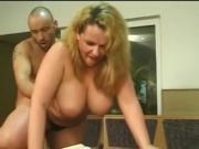 blonde milf fucks in bowling alley