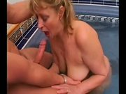Horny Mommy gets fucked in spa by airliner1