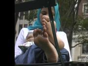Arabic Hijab Feet Sexy Voyeur