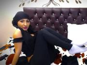 Sexy Brown muslim Babe on cam