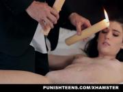 PunishTeens Hot Girl Hardcore Fucked By Client