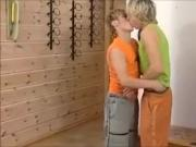 Blond Sweet Boy's Fuck Bare