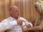 Britney Amber with Rod Fontana