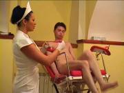 Sexy doctor and patient! Russian Amateur!