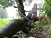 Masturbating in Nature