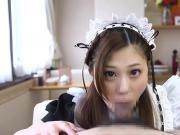 Japanese Maid Suck & CIM pt. 2