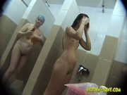 Hidden girls shower cam