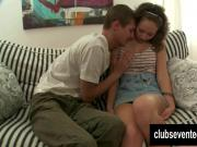 Teen Donna gets slit fucked and cummed