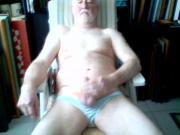 THEO old gayman masturbate
