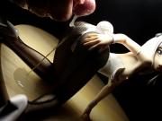Koneko Bunny Suit - Figure Bukkake - SoF - Semen on Figure