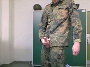 soldier (soldat) in uniform
