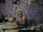Amateur girl changing her underwear