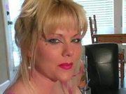 Hot Blonde MILF Smoking before Sex
