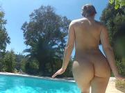 Dani Daniels and Cherie DeVille go for a swim