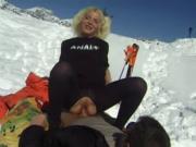 Les Branches Font Du Ski