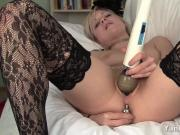 Blonde Shae Toy Her Snatch And Ass