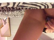 Teen masturbate with sharpie
