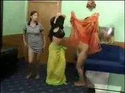 Arabian teens showing on web cam