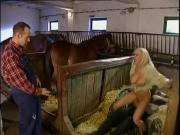 German country girl fucked in stable