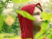 Latvian Little Red Riding Hood gets eaten by the Wolf