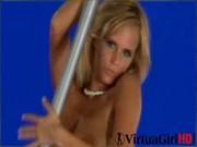 Busty Zuzana stripping