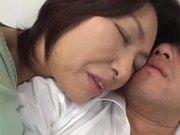 entreats mom and son