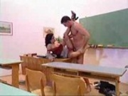 Tight Teacher Nailed In The Classroom.F70