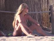 Topless Beach Amateur Blondes
