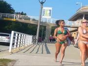 Papalote bikini verde