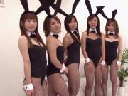Japanese Bunny Orgy Uncensored JAV