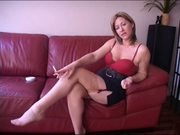 Lady D - Jerkoff Instruction With Countdown