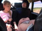 Sex in car with Christine
