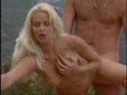 Blonde Babe in Outdoor Fucking in France