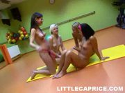 Hot Chicks Dildo Training