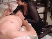 Wife 56j Make By Husband Blowjob