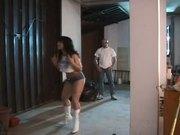 Italian slut find three huge cocks in a lost house