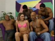 A White Girls Dream Come True BBC Gangbang