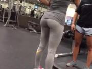 Tight ass at the gym
